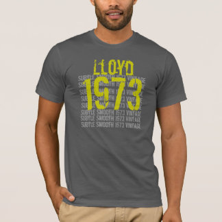 1973 Vintage Birthday Subtle and Smooth T-Shirt