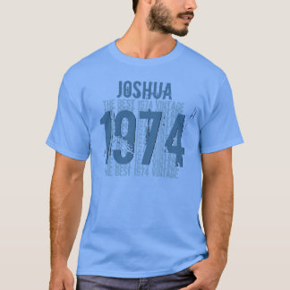 1974 40th Birthday or any Year Vintage BLUE V001 T-Shirt