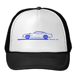 1974-78 Trans Am Blue Car Cap