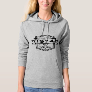 1974 Aged To Perfection Clothing Hoodie