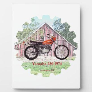 1974 Classic Motorcycle Yamaha 250 Plaques