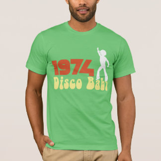 1974 DISCO Baby Graphic RETRO BIRTHDAY Tee