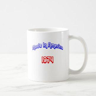 1974 Made In America Coffee Mug