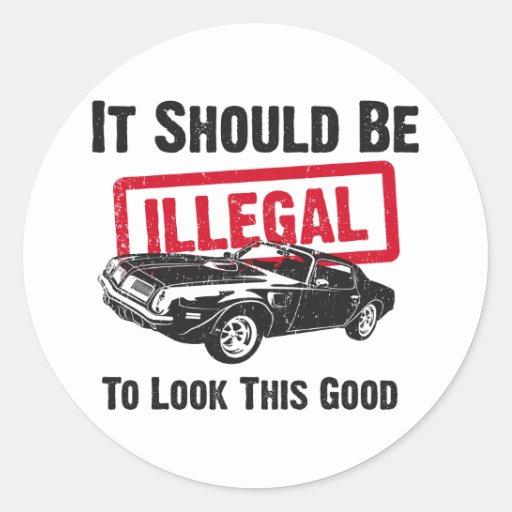 1974 Pontiac Firebird 455 Trans Am Stickers