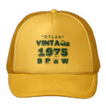 1975 40th or Any Birthday VINTAGE BREW Gold J30BZ Cap