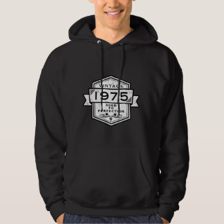 1975 Aged To Perfection Clothing Hooded Sweatshirts