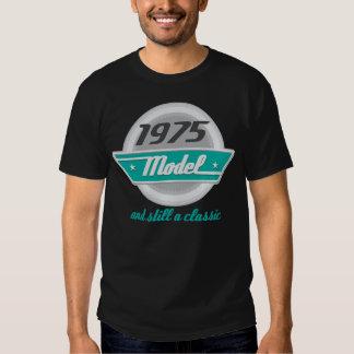 1975 Birth Year Birthday Vintage Model Mens Tshirt