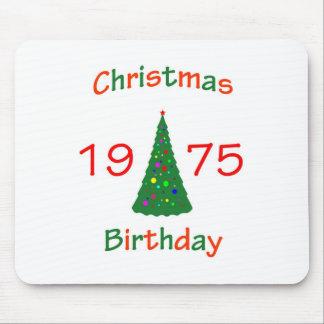 1975 Christmas Birthday Mousepad