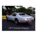 1975 Corvette Post Cards