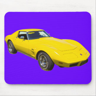 1975 Corvette Stingray Sports Car Mouse Mat