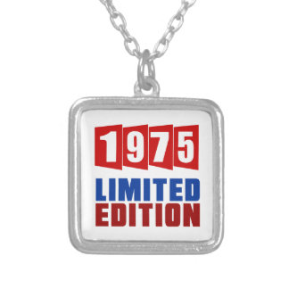 1975 Limited Edition Square Pendant Necklace