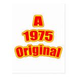 1975 Original Red Post Card