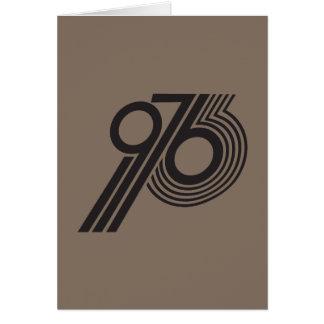 1976 CARD