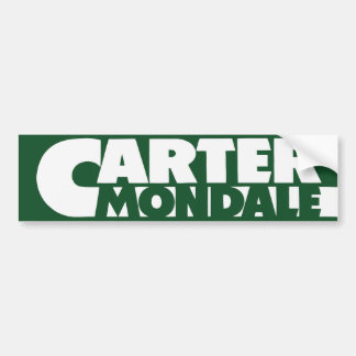 1976 Carter Mondale Bumper Sticker