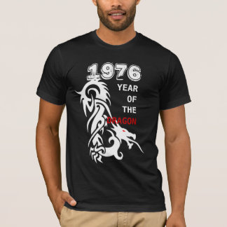 1976 Year of the Dragon Tattoo Tee custom Cohort