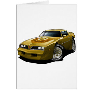 1977-78 Trans Am Gold Greeting Card