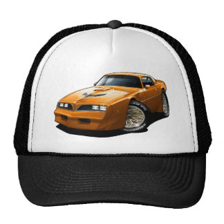 1977-78 Trans Am Orange Hat