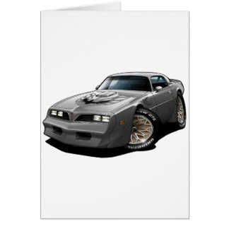 1977-78 Trans Am Silver Greeting Card