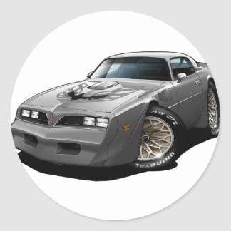 1977-78 Trans Am Silver Stickers