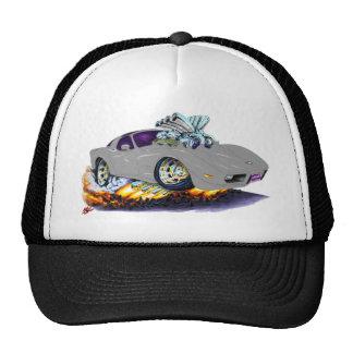 1977-79 Corvette Silver Car Mesh Hats
