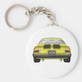 1977 Chevrolet Camero Basic Round Button Key Ring