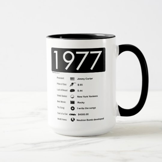 1977-Great Year T-Shirt Mug