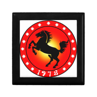 1978 Year of the Horse Gift Box