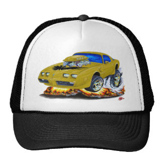 1979-81 Trans Am Gold Car Mesh Hat