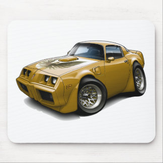 1979-81 Trans Am Gold Car Mouse Mat