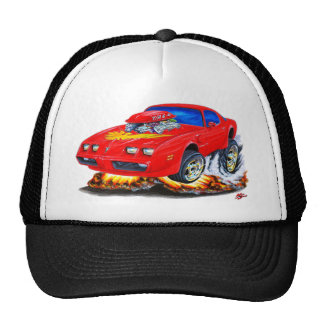 1979-81 Trans Am Red Car Trucker Hat