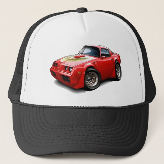 1979-81 Trans Am Red Car Trucker Hat