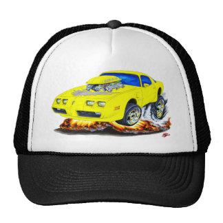 1979-81 Trans Am Yellow-Grey Car Trucker Hat