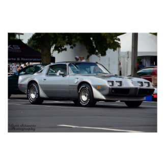 1979 Pontiac Trans Am 10th anniversary Poster