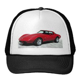 1979 Red Corvette Classic Trucker Hat