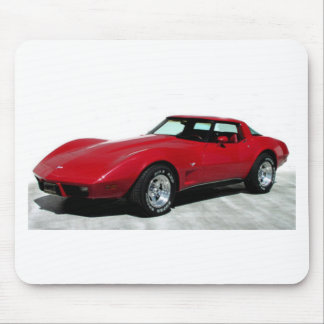 1979 Red Corvette Classic Mouse Mat