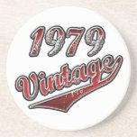 1979 Vintage Beverage Coasters