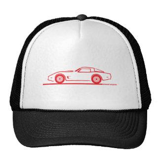 1980-82 Chevrolet Corvette Trucker Hats