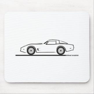 1980-82 Chevrolet Corvette Mousepad