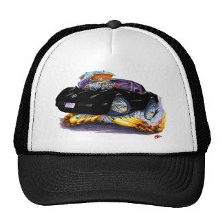 1980-82 Corvette Black Car Cap