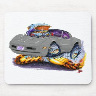 1980-82 Corvette Grey Car Mouse Pad