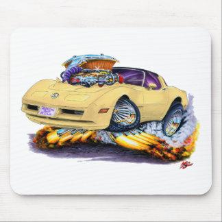 1980-82 Corvette Tan Car Mouse Pad