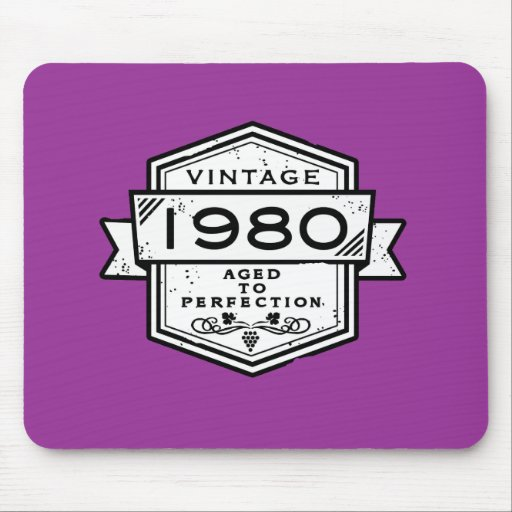 1980 Aged To Perfection Mousepad