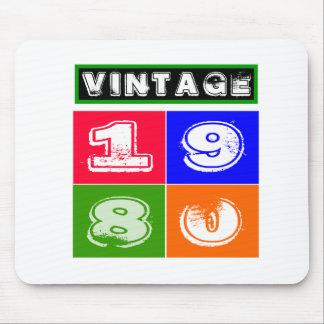 1980 Birthday Designs Mouse Pad