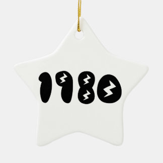 1980 CHRISTMAS ORNAMENT