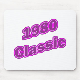 1980 Classic Purple Mousepad