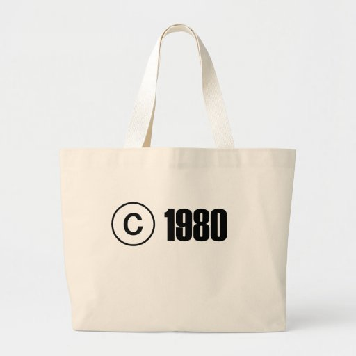 1980 Copyright Bag