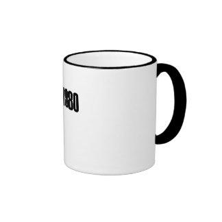 1980 Copyright Mugs