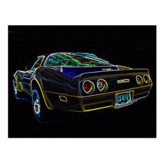 1980 Corvette Postcard