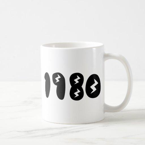 1980 COFFEE MUGS