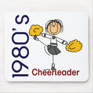 1980's Cheerleader Stick Figure Mouse Mats